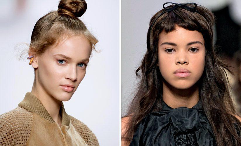 Les tendances cheveux printemps-été 2019